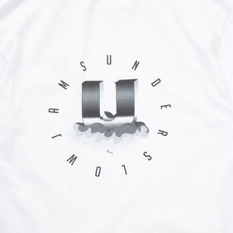 underslowjams CLOUD LOGO TEE GREY