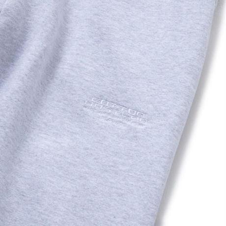 "COTTON HUSTLER ""CLASSIC"" LOGO SWEAT PANTS embroidery HEATHER GRAY"