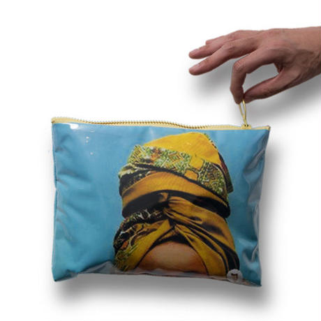 CUT BADU CLUTCH BAG
