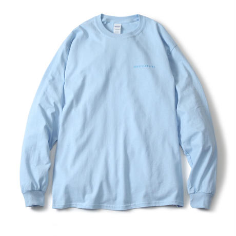 下投狂奏 L/S TEE (LIGHT BLUE)