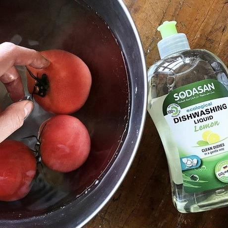 """SODASAN"" dish wash liquid"