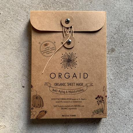 ORGAID  organic sheet mask /Box