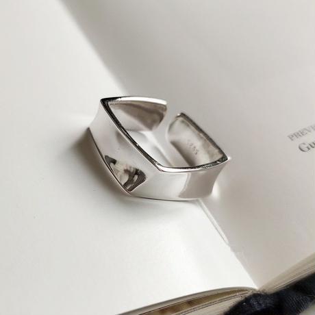 silver925  Rhombus  ring