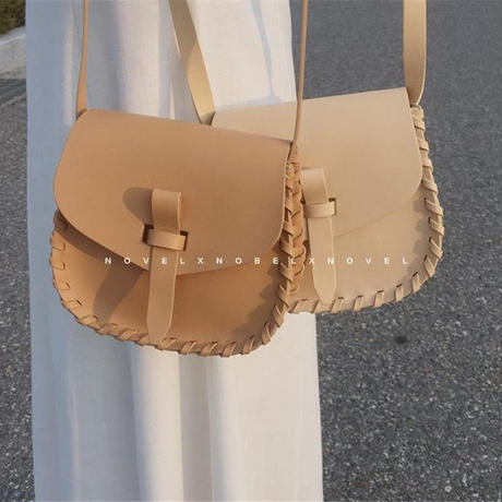 side  stitch  shoulder bag