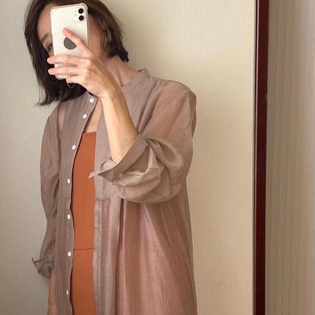 sheer long shirts one-piece