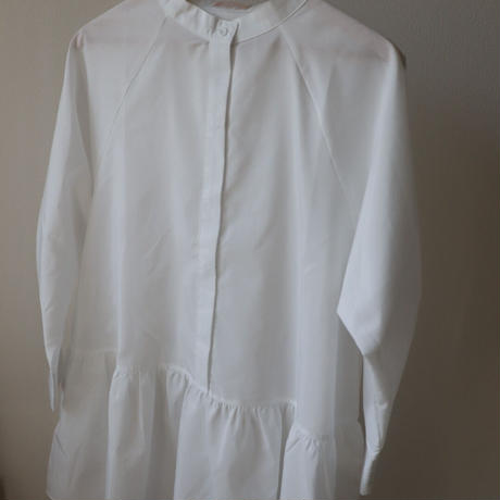 tiered hem blouse