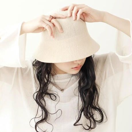 linen touch bucket hat