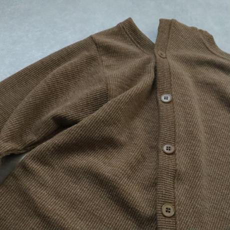 rib slit pullover
