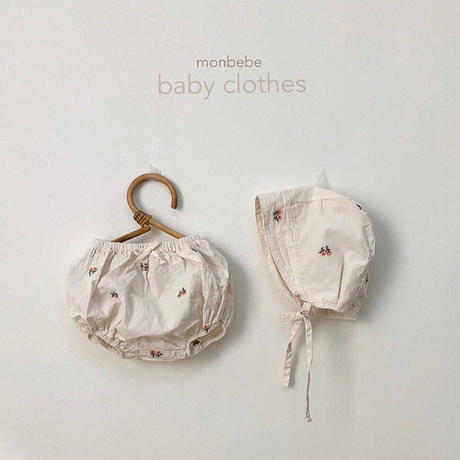 embroidery  baby-bonnet