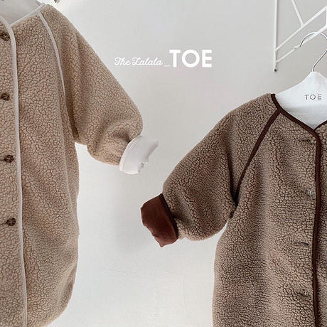 stitch  boa coat(kids)