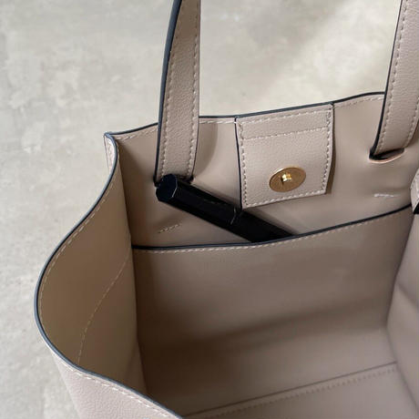 2way front tie bag