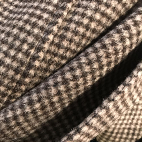HANDMADE CHECK COAT