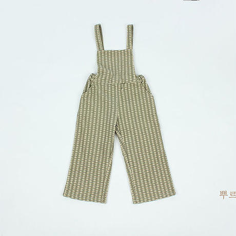 ご予約 design suspender pants