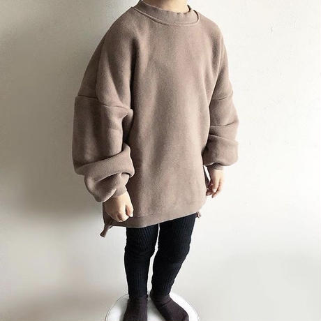 over  size sweat pullover(kids)