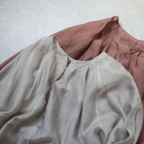 shear gather blouse