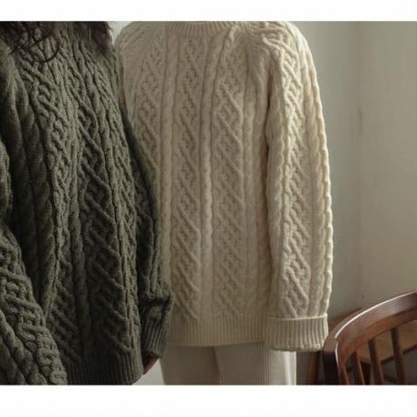 mama  cable knit