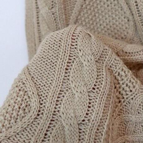 slit alan knit vest