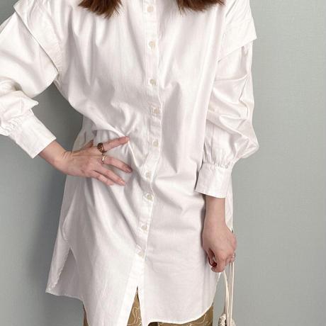 volume sleeve shirts one-piece