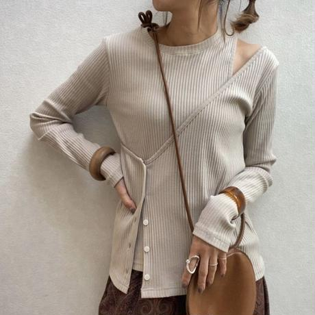 asymmetry  rib tops