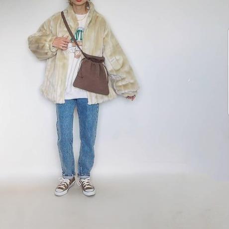 volume fur coat