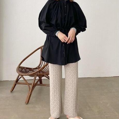 summer knit pants