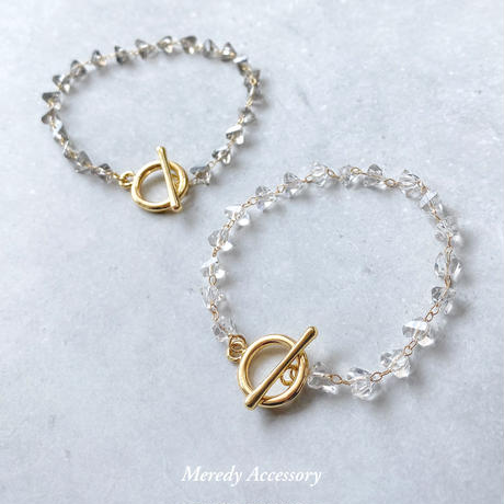 crystal chain bracelet