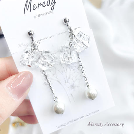 clear silver chain