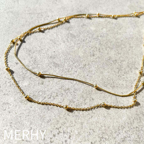 necklace ME38  Silver925