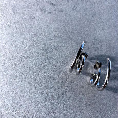 シルバーイヤーカフピアスmini Silver925ポスト