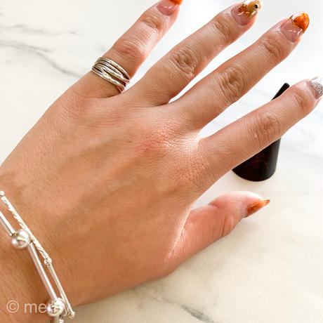 Pinky ring ME37 Silver925