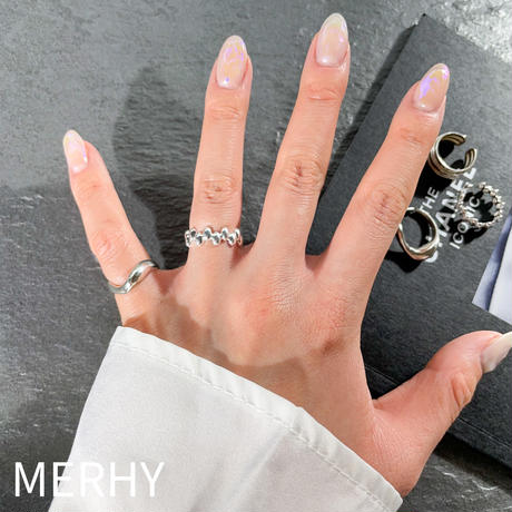 Pinky ring ME131 Silver925