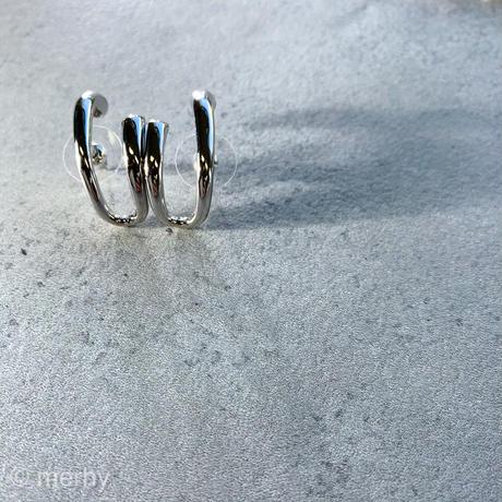 シルバーイヤーカフピアス Silver925ポスト