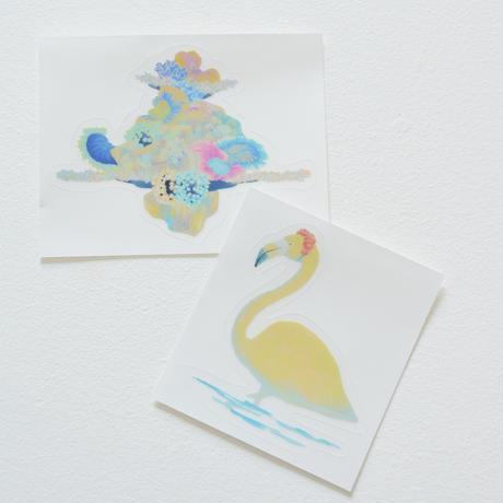 Flamingoステッカー