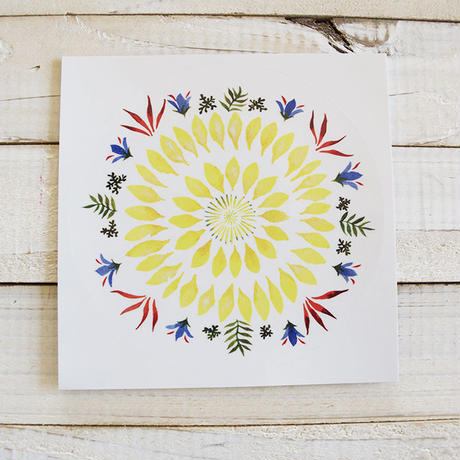 "flower mandala ""SUNFLOWER"""