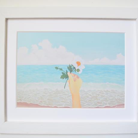Wind Flower マットプリント