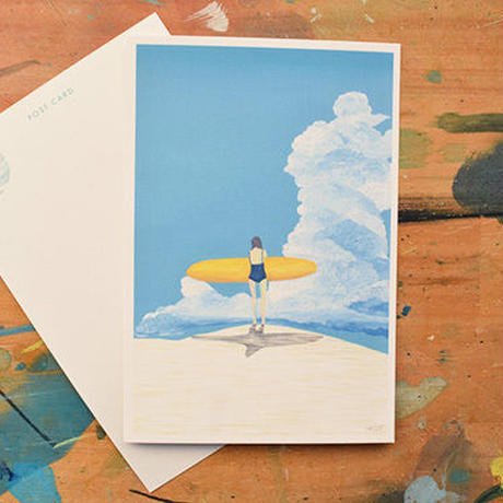"post card ""summer clouds"""