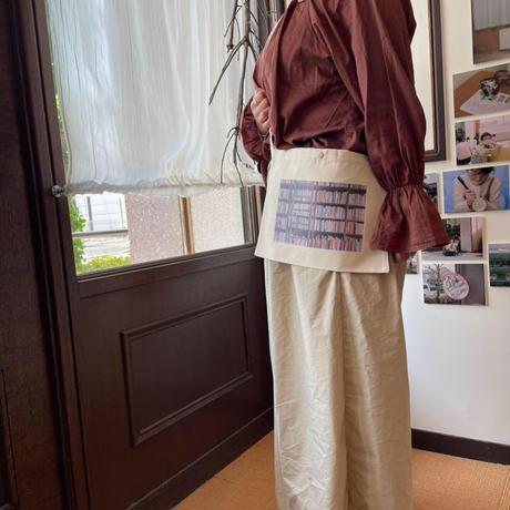 【数量限定】本棚サコッシュ(撮影:林謙助)