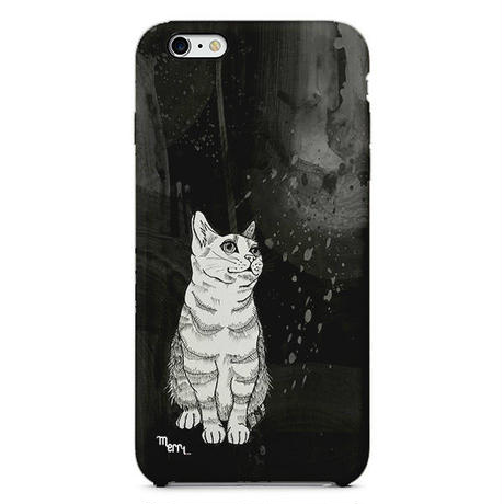 """Cat"" ネコ -black-  iPhone 5/5s/SE  Cover  [ hard ]"
