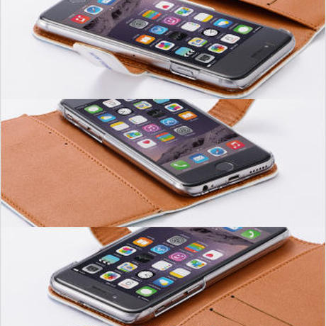 "iPhone 6/6s cover -diary-  ""Relaxmode""  手帳型iPhoneケース"""