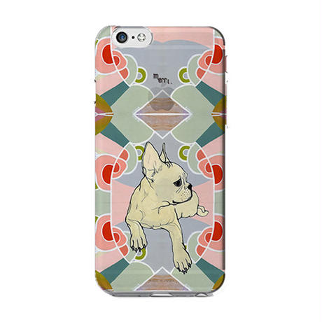 "iPhone 6/6s cover -diary-  ""Rachael"" french bulldog 手帳型iPhoneケース"