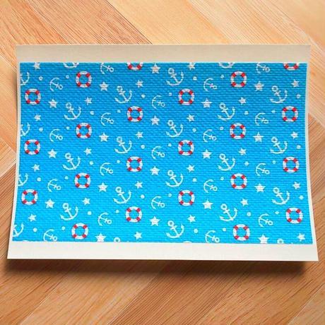 メリーケアテープ(シート)ブルー