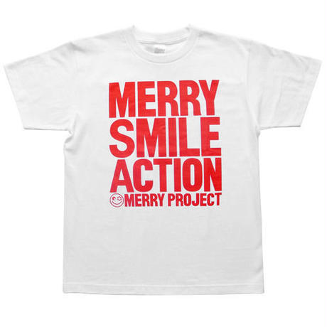 MERRY SMILE ACTION Tシャツ