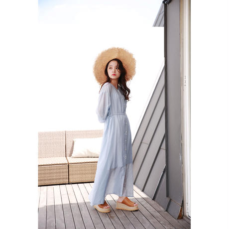 【Isn't She?】2way sheer onepiece (1586E)