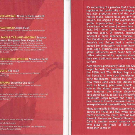 VA - The Rough Guide To Avant-garde Japan (CD/Album/2021)