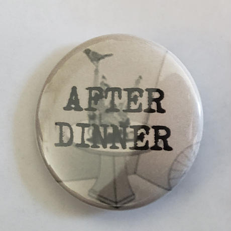 AFTER DINNER - THE SOUVENIR CASSETTE and FURTHER LIVE ADVENTURES (CD2019)【+ BUTTON & INLAY/缶バッジ&挿入紙】