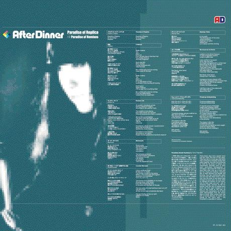 After Dinner - Paradise of Replica / Paradise of Remixes (CD/Album/2001)