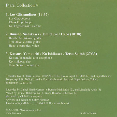VA - Ftrarri Collection 4 (CD/Album/2016)