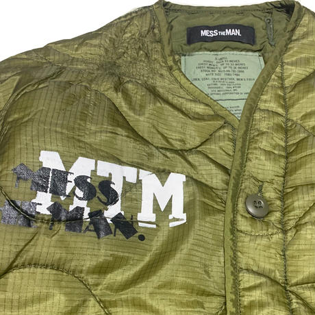 MTM REMAKE MIL liner JKT  mtm-1a-0