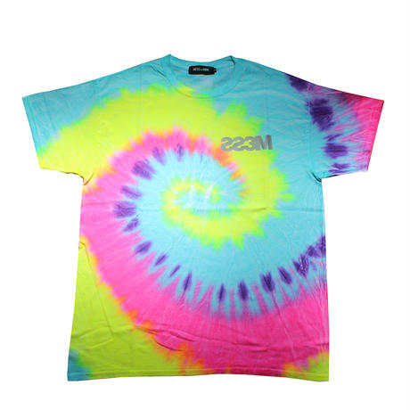 REFLECTOR MESS TIE DYE TEE mom-1a-024
