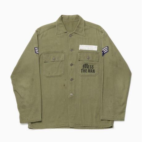 HYENA SHIRT [Used army shirt]